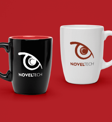 Personalizado Mugs Novel Tech